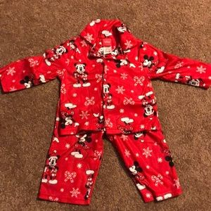 Toddler Mickey Mouse Flannel Pajamas